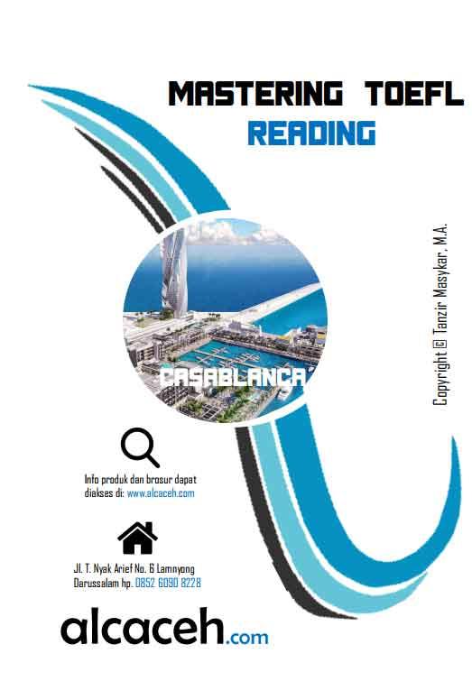 Cover Buku TOEFL Reading