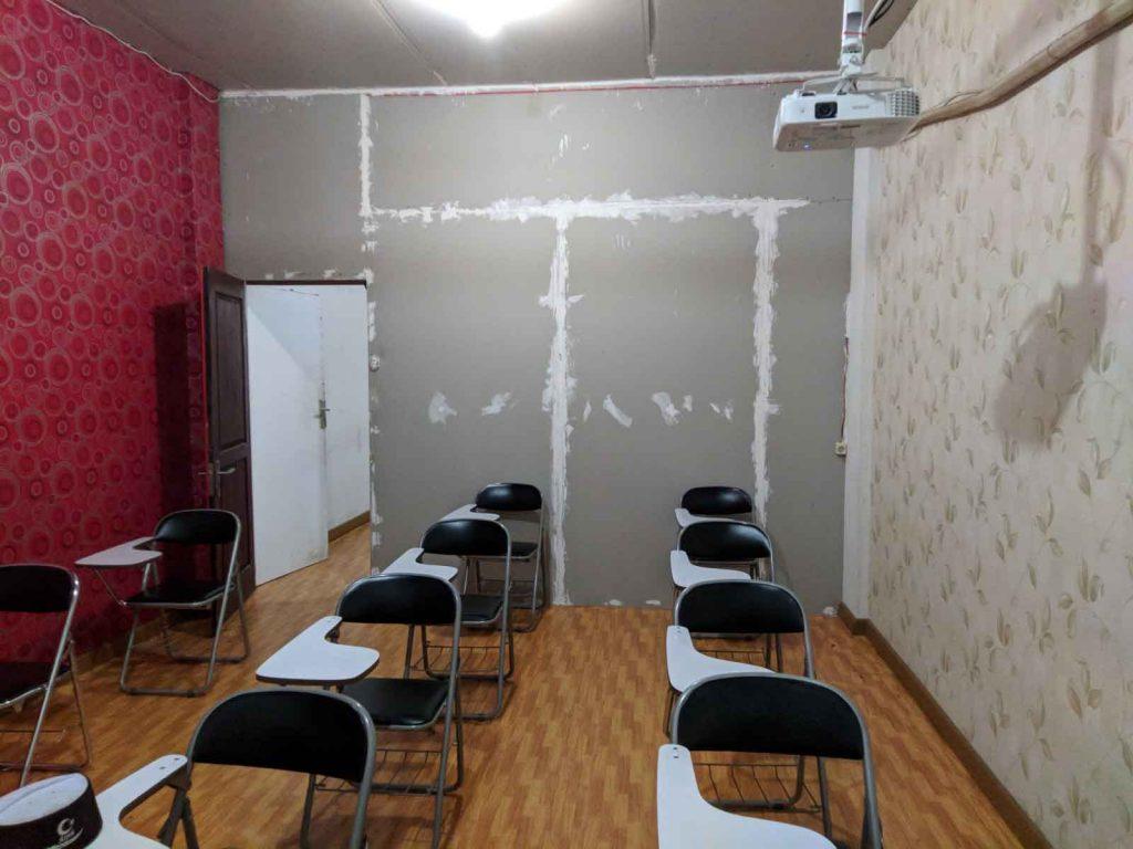 Ruang Kelas TOEFl Prediction
