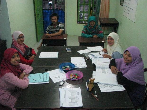 Desain kelas TOEFL AcehLC di penghujung tahun 2014