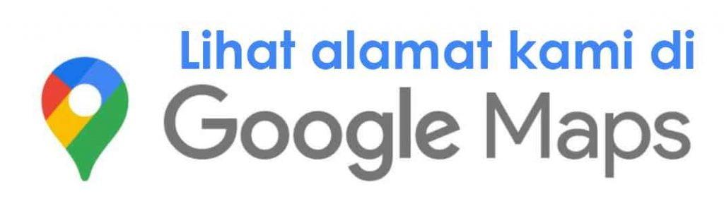 ilustrasi alamat di google map