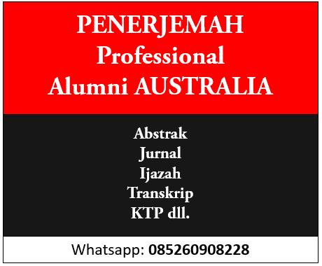 penerjemah profesional alumni australia