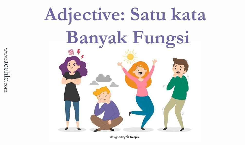 adjective kata sifat banyak fungsi