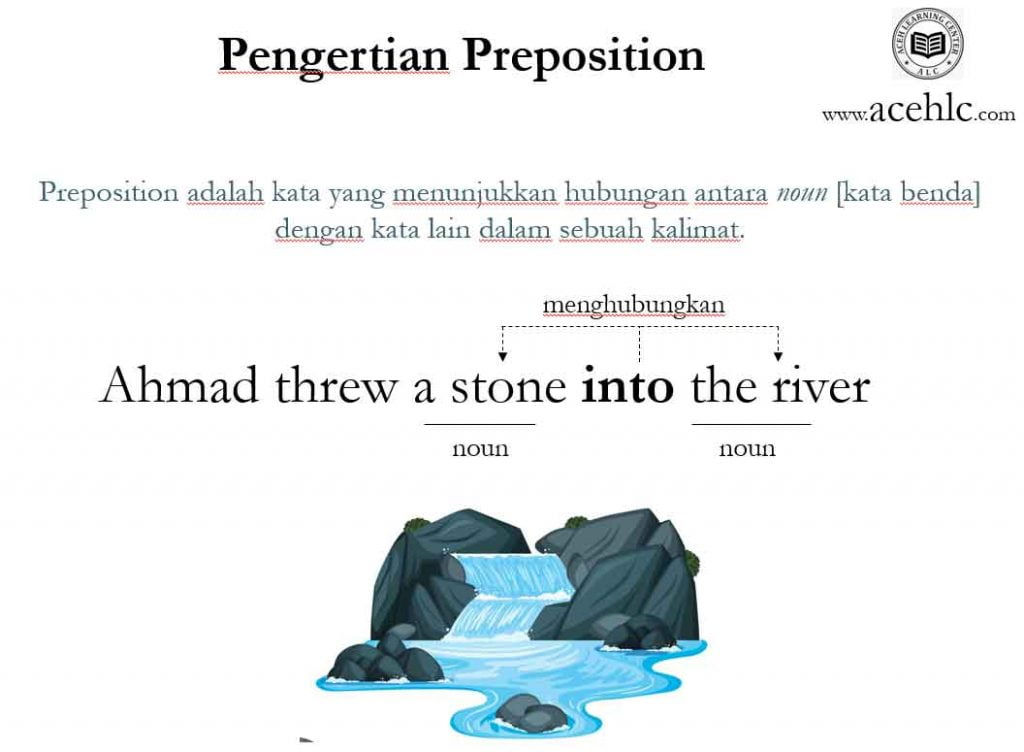 pengertian preposition